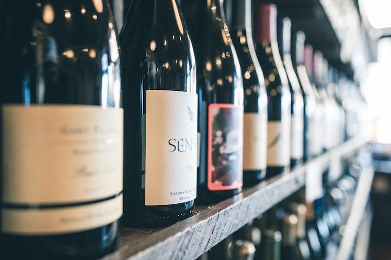 Vinflaskor som är bra att lagra