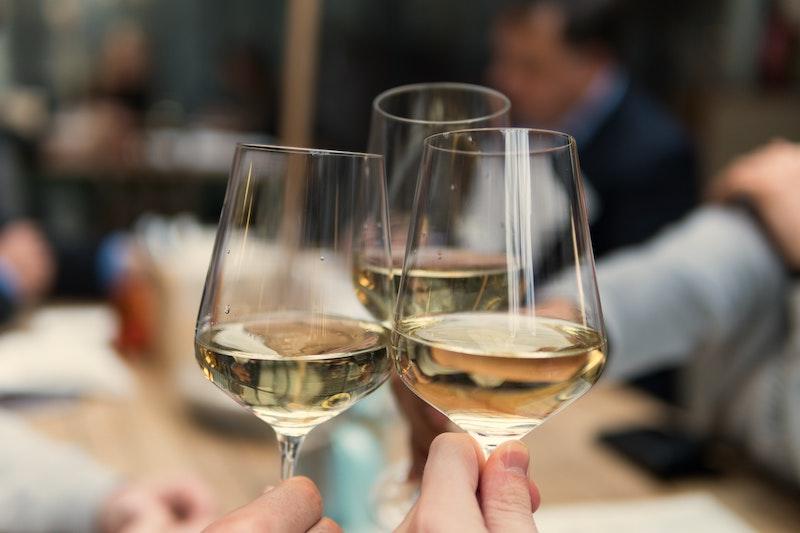 Vinglas med ett riktigt bra Napa Valley-vin